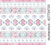 seamless striped pattern.... | Shutterstock .eps vector #627724733