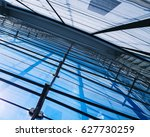 architecture details modern... | Shutterstock . vector #627730259