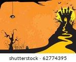 halloween card | Shutterstock . vector #62774395