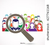 people search icon  pictograph  ... | Shutterstock .eps vector #627761168