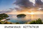 Phuket Lanscape beautiful Andaman sea, Taken from Windmill Viewpoint, Phuket island