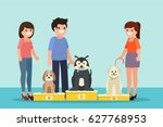 Dogs Show Illustration In...