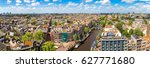 panoramic aerial view of... | Shutterstock . vector #627771680