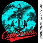california    vector... | Shutterstock .eps vector #627779030