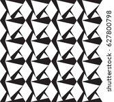 black and white geometric... | Shutterstock .eps vector #627800798