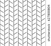 black and white linear... | Shutterstock .eps vector #627800804