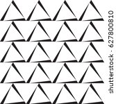 black and white background with ... | Shutterstock .eps vector #627800810