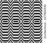 zigzag lines. jagged stripes.... | Shutterstock .eps vector #627803540