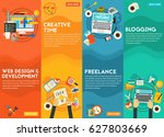 webdesign  development ... | Shutterstock .eps vector #627803669