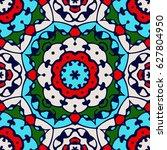 turkish tulip   seamless... | Shutterstock .eps vector #627804950