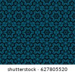 abstract repeat backdrop.... | Shutterstock .eps vector #627805520
