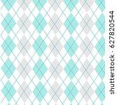 argyle background  vector... | Shutterstock .eps vector #627820544