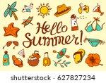 hello summer lettering....