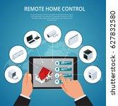 flat design style modern vector ... | Shutterstock .eps vector #627832580