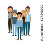 young people design | Shutterstock .eps vector #627840020