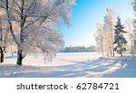 winter park in snow | Shutterstock . vector #62784721