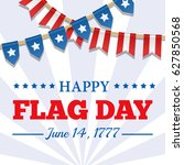 flag day background. usa... | Shutterstock .eps vector #627850568