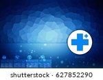 2d medical structure background   Shutterstock . vector #627852290