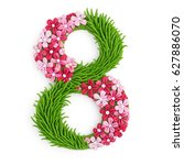3d eight number 8 women's day...