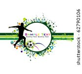 football colorful background.   Shutterstock .eps vector #62790106
