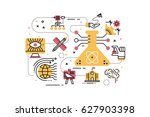 stem  science technology... | Shutterstock .eps vector #627903398