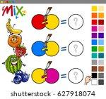 cartoon vector illustration of... | Shutterstock .eps vector #627918074