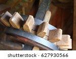inside a windmill | Shutterstock . vector #627930566