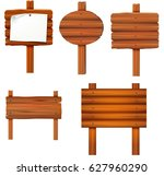 sign board collection set...   Shutterstock . vector #627960290