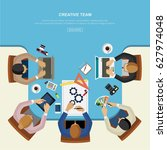 flat design.concept for... | Shutterstock .eps vector #627974048