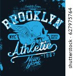 sport t shirt graphic | Shutterstock .eps vector #627975764