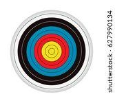 target bullseye | Shutterstock . vector #627990134