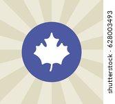 leaf icon. sign design.... | Shutterstock . vector #628003493