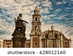 church of santo domingo and...   Shutterstock . vector #628012160