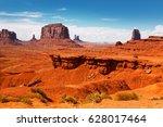 monument valley | Shutterstock . vector #628017464