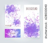 vector abstract background with ... | Shutterstock .eps vector #628033040