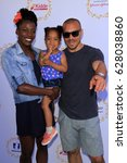Small photo of LOS ANGELES - APR 23: Alysia Montano, Linnea Montano, Louis Montano at the Safe Kids Day at the Smashbox Studios on April 23, 2017 in Culver City, CA