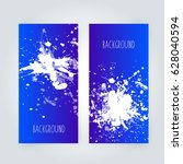 vector abstract background with ... | Shutterstock .eps vector #628040594