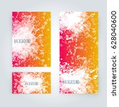 vector abstract background with ... | Shutterstock .eps vector #628040600