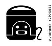 black icon illustration for... | Shutterstock .eps vector #628040888