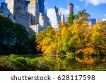central park   nyc | Shutterstock . vector #628117598
