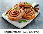 freshly baked traditional sweet ... | Shutterstock . vector #628120190