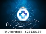 abstract health care concept... | Shutterstock .eps vector #628130189