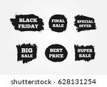 stickers to attract customers.... | Shutterstock .eps vector #628131254
