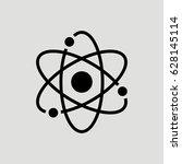 atom science vector icon | Shutterstock .eps vector #628145114