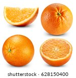 orange fruits collection... | Shutterstock . vector #628150400