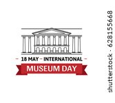 international museum day.... | Shutterstock .eps vector #628155668