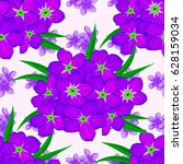spring paper with abstract cute ... | Shutterstock . vector #628159034