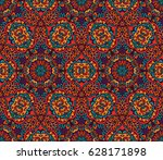 abstract geometric mosaic... | Shutterstock .eps vector #628171898