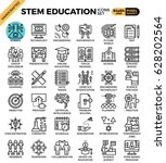 stem  science technology... | Shutterstock .eps vector #628202564