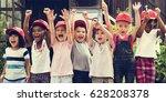 school student tour is a good...   Shutterstock . vector #628208378